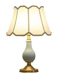 abordables -simple Décorative Lampe de Table Pour Chambre à coucher / Bureau Céramique 220V