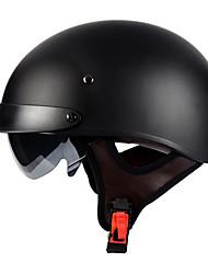 Недорогие -lvcool abs электрический велосипед половина лица мотоциклетный шлем ретро электрический автомобиль