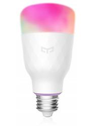 Недорогие -Xiaomi Интеллектуальные огни E27 Smart Light Bulbs для Гостиная / Изучение / Спальня Smart / Контроль APP / Цвета меняются 100-240 V