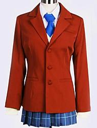 Недорогие -Вдохновлен Косплей Косплей Аниме Косплэй костюмы Японский Школьная форма Английский Пальто / Блузка / Кофты Назначение Муж. / Жен.