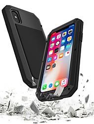 Недорогие -Кейс для Назначение Apple iPhone 8 / iPhone 7 Водонепроницаемый / Защита от удара Чехол броня Твердый Металл для iPhone 8 Pluss / iPhone 8 / iPhone 7 Plus