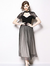 c623b2ae3db8 Stropløs Sort Kjole - Lightinthebox.com