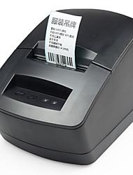 Недорогие -gprinter gp2120tu термопринтер USB проводной малый бизнес 203 dpi поддержка 56 мм