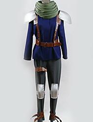 Недорогие -Вдохновлен Final Fantasy Косплей Аниме Косплэй костюмы Японский Косплей Костюмы Особый дизайн Кофты / Брюки / Перчатки Назначение Муж. / Жен.