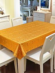 baratos -Moderna PVC Quadrada Toalhas de Mesa Geométrica Decorações de mesa 1 pcs