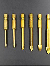 preiswerte -6 pcs Bohrer Praktisch Einfache Montage Sechskantkopf Factory OEM 3-10mm(6PC-1) Fit für elektrische Bohrmaschinen