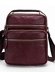 Недорогие -Муж. Молнии Сумка / Поясная сумка Сплошной цвет Черный / Винный / Наступила зима