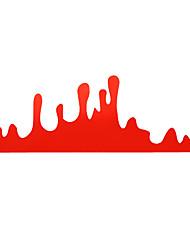 Недорогие -смешные красные капли крови наклейки виниловые наклейки для автомобиля мотор задний фонарь окна украшения бампера
