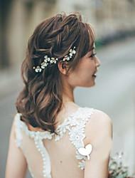 Недорогие -Сплав Зажим для волос с Цветы 3 предмета Свадьба / Особые случаи Заставка