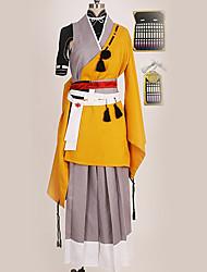 baratos -Inspirado por Touken Ranbu Fantasias Anime Fantasias de Cosplay Ternos de Cosplay Design Especial Luva / Mais Acessórios / Ocasiões Especiais Para Homens / Mulheres