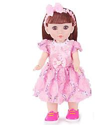 저렴한 -패션 인형 여아 16 인치 실리콘 - Smart 살아 있는 것 같은 아동 아이의 남여 공용 장난감 선물