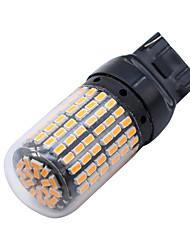 Недорогие -SO.K 2pcs Автомобиль Лампы 8 W SMD 3014 1200 lm 144 Светодиодная лампа Лампа поворотного сигнала Назначение
