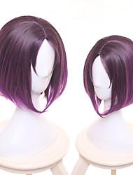 Недорогие -Косплей Костюмы горничной Косплей Косплэй парики Все 14 дюймовый Термостойкое волокно Лиловый Аниме