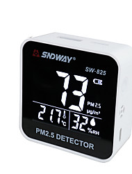 baratos -sndway sw825 digital detector de qualidade do ar do laser pm2.5 detector