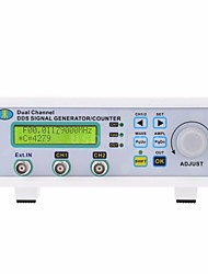 Недорогие -mhs-5200p 25 мГц цифровой двухканальный генератор сигналов dds генератор сигналов произвольной формы