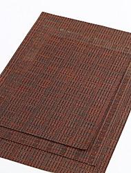 Χαμηλού Κόστους -Σύγχρονο 100γρ / τμ Πολυεστέρας Ελαστικό Πλεκτό Τετράγωνο Σουπλά Γεωμετρικό Επιτραπέζια διακοσμητικά 1 pcs