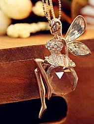 Недорогие -Жен. Старинный длинное ожерелье - принцесса модный, Милая Милый Золотой 72 cm Ожерелье Бижутерия 1шт Назначение Повседневные, Для улицы