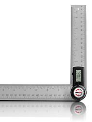Недорогие -gemred 200 мм многофункциональная нержавеющая сталь 2 в 1 общая цифровая угловая линейка уровня