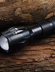 Недорогие -UltraFire LED Flashlights Светодиодные фонари Светодиодная лампа LED 7 излучатели 1600 lm 5 Режим освещения с батареей и зарядным устройством Масштабируемые Фокусировка