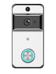 Недорогие -Factory OEM Беспроводная 2.4GHz Встроенный из спикера Нет Гарнитура 1280*720 пиксель Один к одному видео домофона