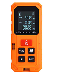Χαμηλού Κόστους -OEM S40 40 0.2~40m Μετρητή απόστασης με λέιζερ Εύκολο στη χρήση / Πολύ Ελαφρύ (UL) για έξυπνη μέτρηση στο σπίτι / για μηχανική μέτρηση