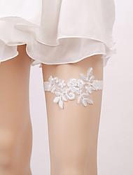 ราคาถูก -ลูกไม้ เกี่ยวกับเจ้าสาว Wedding Garter กับ มุก สายรัด งานแต่งงาน / ปาร์ตี้
