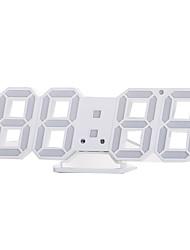 Недорогие -3d светодиодные настенные часы современный цифровой будильник для домашнего стола настольной гостиной офиса
