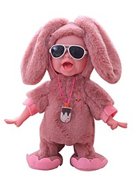 baratos -Bonecas Reborn Bebês Meninos 12 polegada Smart realista Crianças / Adolescente de Criança Unisexo Brinquedos Dom