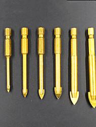 preiswerte -6 pcs Bohrer Praktisch Einfache Montage Sechskantkopf Factory OEM 3-10mm(6PC-2) Fit für elektrische Bohrmaschinen