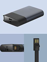 Недорогие -Xiaomi 10000 mAh Назначение Внешняя батарея Power Bank 5/9/12 V Назначение Назначение Зарядное устройство КК 2.0