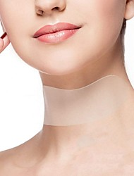 Недорогие -Многоразовые против морщин на шее, на груди, кремний, удаление микровыступов, на шее, наклейка, уход за кожей, силикагель, пластырь arruga