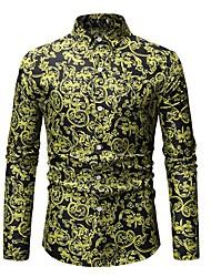 Недорогие -Мужская рубашка размера eu / us - классический классический воротник