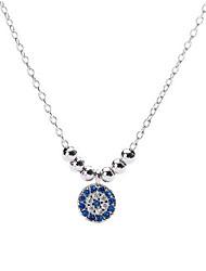 Недорогие -Жен. металлический / Мода / Цветной ожерелья Однотонный