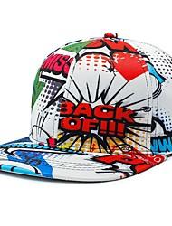 Недорогие -бейсбольная кепка унисекс из полиэстера / солнцезащитная шляпа - цветной блок