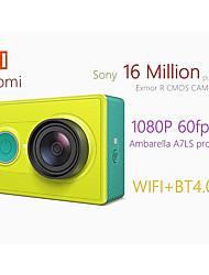 Недорогие -Xiaomi Yi YDXJ01XY 16 mp 1920 x 1080 пиксель На пульте управления / Легко для того чтобы снести / Маленький размер 60 кадров в секунду Нет Нет экрана (выход на APP) 16.0 Мп КМОП 128 GB H.264 / MPEG-4