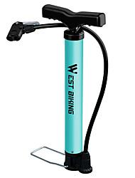Недорогие -WEST BIKING® Велосипедные насосы Компактность Легкость Легкие материалы Прочный Надувной Назначение Шоссейный велосипед Горный велосипед Баскетбол Велоспорт пластик Сталь Синий
