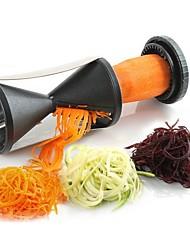 Недорогие -Нержавеющая сталь + пластик Для фруктов и овощей Макаронные изделия Салатные инструменты Творческая кухня Гаджет Кухонная утварь Инструменты Для фруктов Для овощного Морковь 1шт