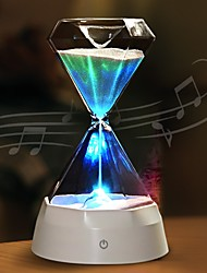 abordables -1pc LED Night Light Bleu USB Créatif / Rechargeable <=36 V
