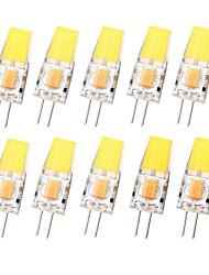 Недорогие -SENCART G4 с регулируемой яркостью 12 В переменного тока / постоянного тока Cob-Light 3 Вт 450LM высокого качества Светодиодная лампа G4-12 В 12 В