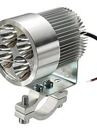 Недорогие -2pcs Проводное подключение Мотоцикл Лампы 12 W 4 Светодиодная лампа Налобный фонарь Назначение Volkswagen / Toyota / Mercedes-Benz Все модели Все года