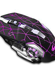Недорогие -LITBest JXC-XX8 Беспроводная 2.4G Оптический Gaming Mouse LED подсветка 2400 dpi 3 Регулируемые уровни DPI 6 pcs Ключи 2 программируемых клавиши