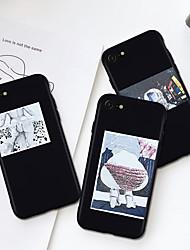 Недорогие -Кейс для Назначение Apple iPhone XS / iPhone XR / iPhone XS Max С узором Кейс на заднюю панель Соблазнительная девушка / Мультипликация Мягкий ТПУ