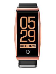 저렴한 -RH01 스마트 시계 Android iOS 블루투스 스포츠 방수 심장 박동수 모니터 혈압 측정 타이머 스톱워치 만보기 콜 알림 액티비티 트렉커