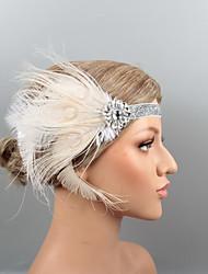 economico -Piume Cerchietti / Accessori per capelli con Cristalli / Piume 1 pezzo Matrimonio / Party / serata Copricapo