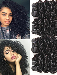 olcso -4 csomópont Brazil haj Hullám Szűz haj Remy haj Cosplay ruhák Az emberi haj sző Tea parti ajándékok 8-28 hüvelyk Természetes szín Emberi haj sző Ajándék Puha Menő Human Hair Extensions Női
