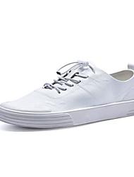 זול -בגדי ריקוד גברים נעלי נוחות מיקרופייבר אביב נעלי ספורט לבן / שחור / אדום