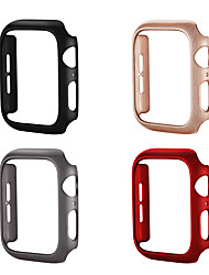 Недорогие -Кейс для Назначение Apple Apple Watch Series 4 / Apple Watch Series 4/3/2/1 / Apple Watch Series 3 пластик Apple
