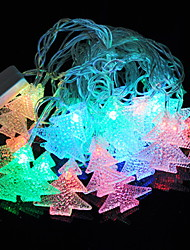 povoljno -4m Žice sa svjetlima 20 LED diode Više boja Ukrasno 220-240 V 1set