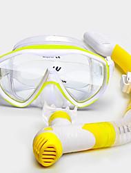 cf38fa02a WATERTIME® Kit para Snorkeling - Máscara de mergulho Snorkel - Anti Neblina  Design Moderno Antiderrapante Mergulho Snorkeling PVC (Polyvinylchlorid) ...