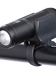 Недорогие -- Велосипедные фары Лампа Передняя фара для велосипеда LED Горные велосипеды Велоспорт Портативные Прочный Литиевая батарея 200 lm Встроенная литий-батарея Белый